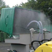 acque lavaggio cassonetti rifiuti