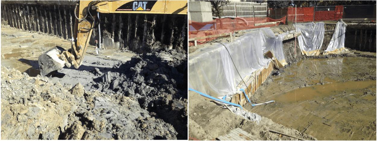 escavazione rifiuti terreni contaminati