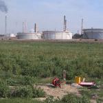 Raffineria Taranto vista sud