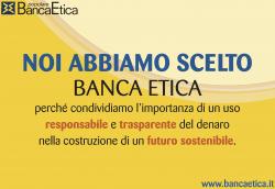 ecosurvey ha scelto banca etica