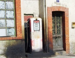 Ecosurvey old gas station france