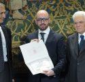 Premio Leonardo a Francesco Galizia dal Presidente Mattarella