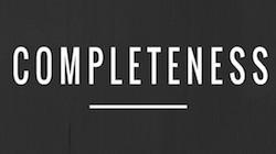 COMPLETENESS_RAp