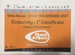 Ecosurvey l'azienda più sostenibile di Bologna - Bella Mossa 2017
