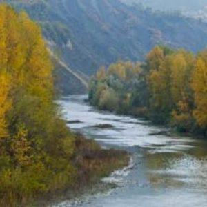 Fiume Reno in località Molino nel Pallone(BO)