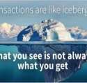 Comeacquistare siti contaminati: le transazioni sono come icebergs