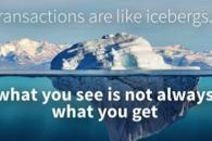 Le transazioni sono come icebergs: comeacquistare un sito contaminato