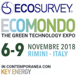 Ecosurvey @ Ecomondo 2018