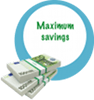 SmartStripping Maximum-savings